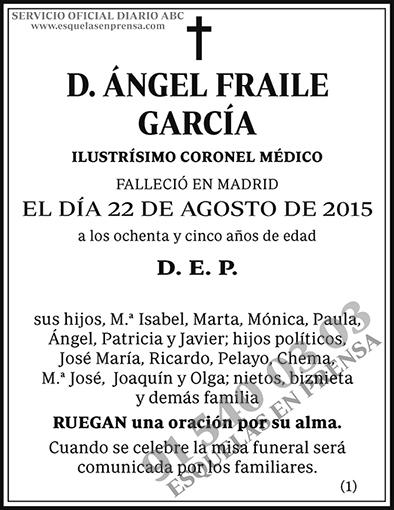 Ángel Fraile García